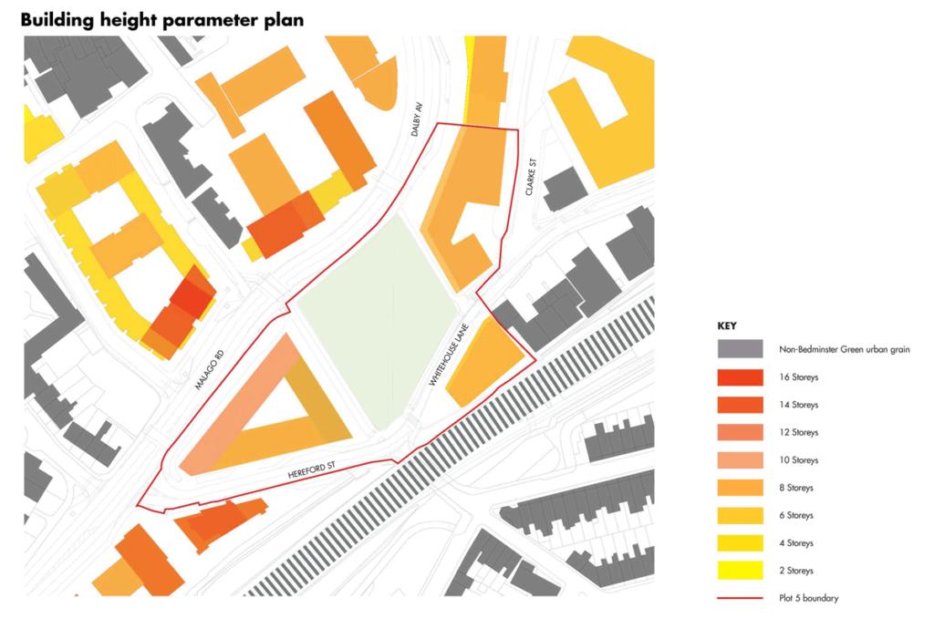 Building Height parameter plan