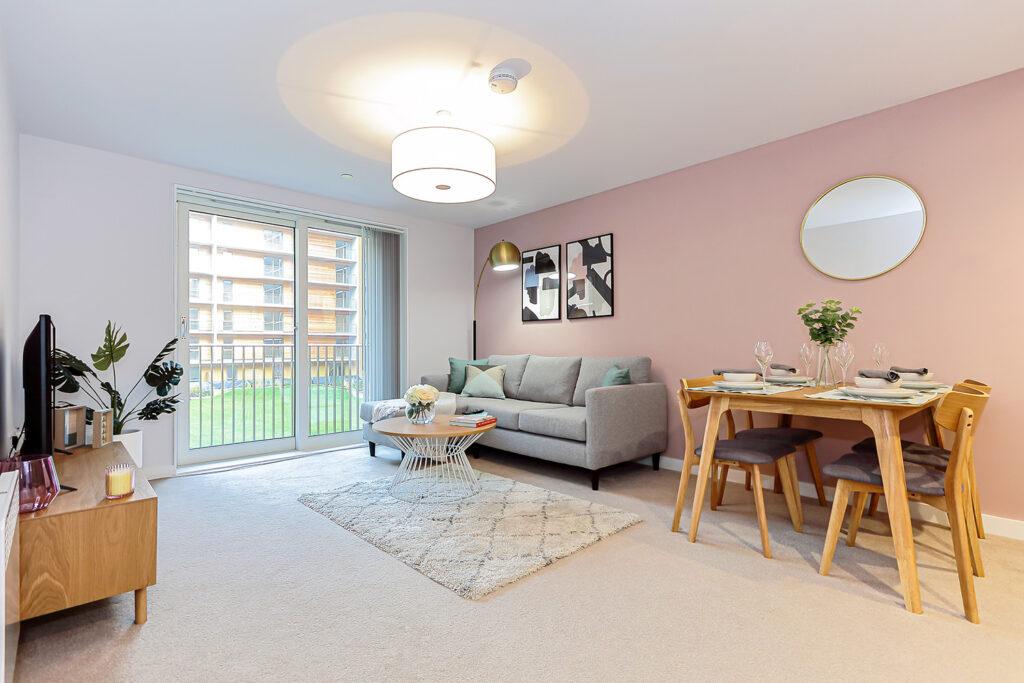 Inside a Dandara Living Apartment at Leodis Court, Leeds