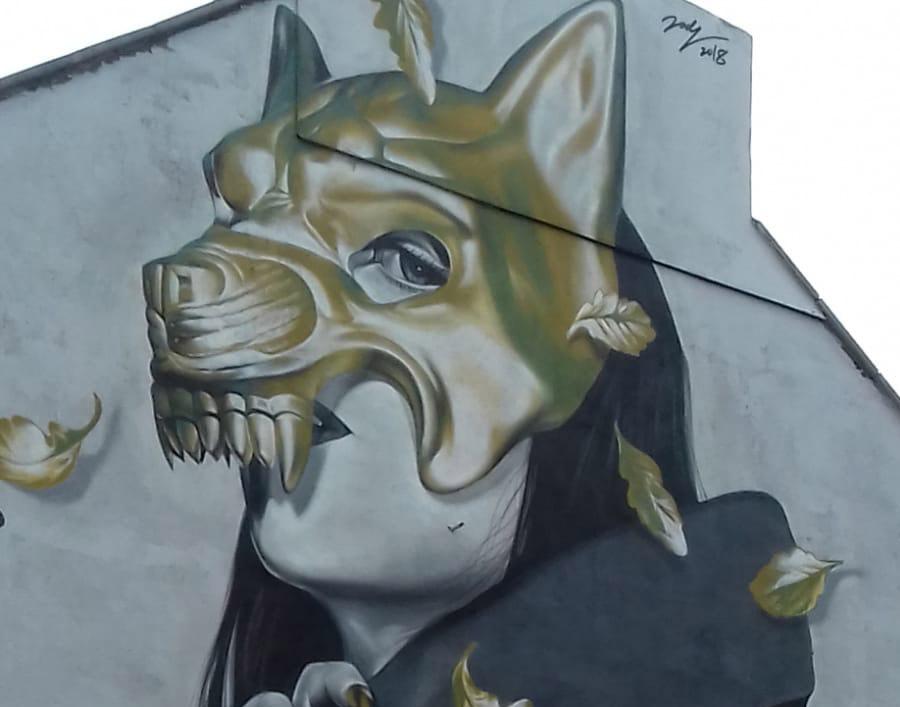 Mural artwork in Bristol